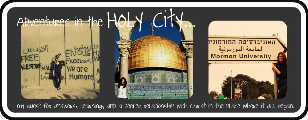 Adventures in the Holy City • • •