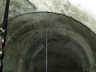 La volta amb arc de mig punt de Sant Jaume de Fonollet
