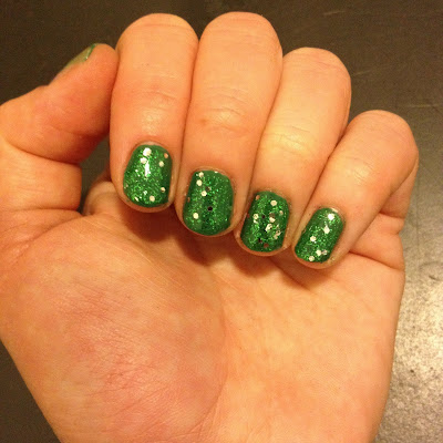 OPI, OPI nail polish, OPI Jade is the New Black, OPI The Muppets Collection, OPI Fresh Frog Of Bel Air The Muppets Collection, nail, nails, nail polish, polish, lacquer, nail lacquer, mani, manicure, mani of the week, OPI mani, OPI manicure