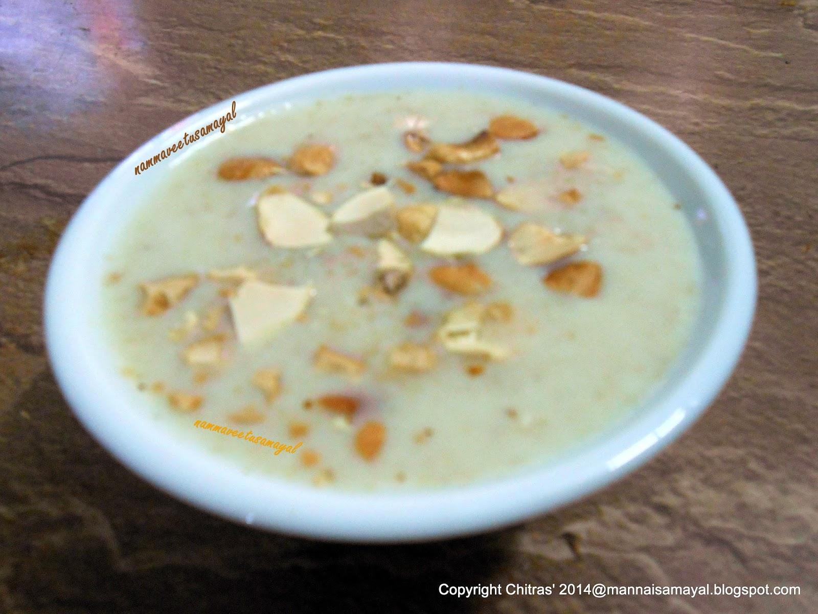 Thinai Paal Payasam 3 [ Foxtail millet Payasam 3 ]