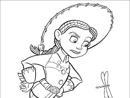 Pixar Toy Story Characters Coloring Pages