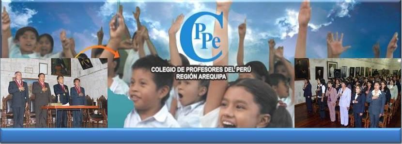 Colegio de Profesores del Perú Región Arequipa