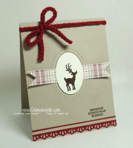 Stampin' Up! Joyous Celebrations Stamp Set Christmas Card