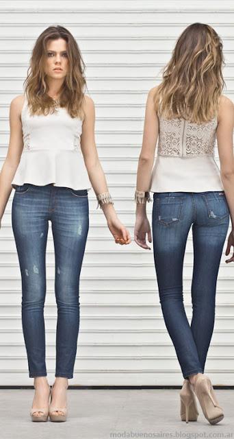 Markova jeans moda verano 2014. Pantalones de mujer moda 2014.