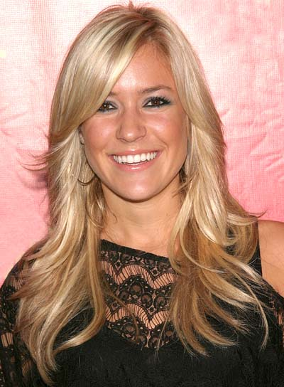 Top 20 Hollywood Celebrities Fashionable Blonde Hairstyles - Kristin Cavalleri