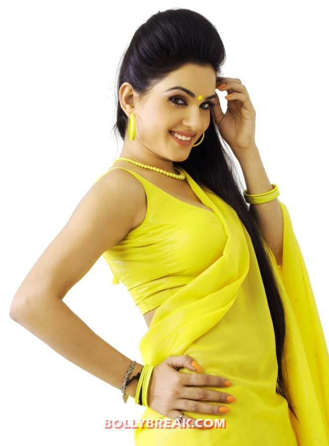 , Sorry Teacher Movie Hot Wallpapers - Kavya Singh In Saree