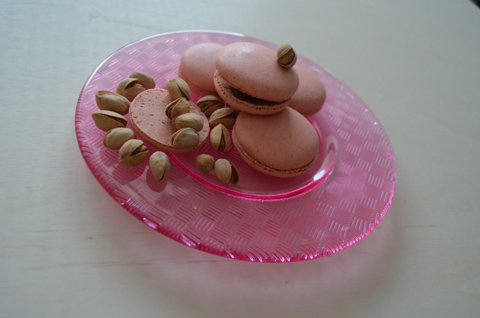Macarons de pistacho