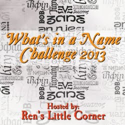 What's In a Name Reading Challenge 2013