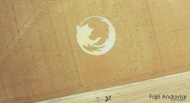 Crop Circle Firefox