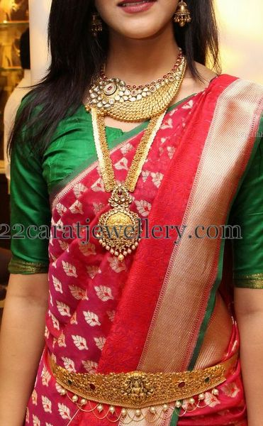 Simran in Traditional Long Chain