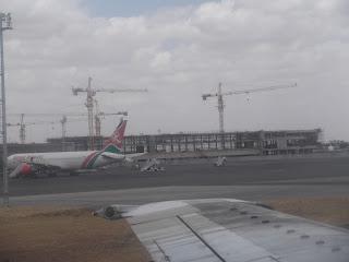 JKIA Airport Terminal 4 November 2012