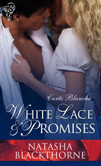 White Lace and Promises by Natasha Blackthorne