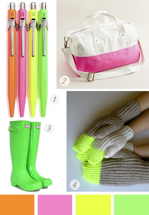 colores neon, fluor