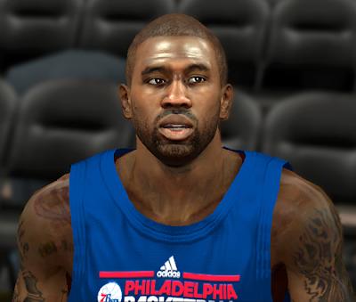Next-gen NBA 2K14 PC Face Mod