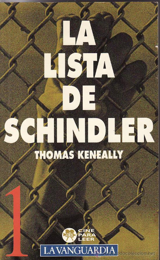 an analysis of the schindlers list by thomas keneally The australian writer thomas keneally found one of his biggest inspirations  when  giving it the name of schindler's ark the book, published in britain in  1982,.