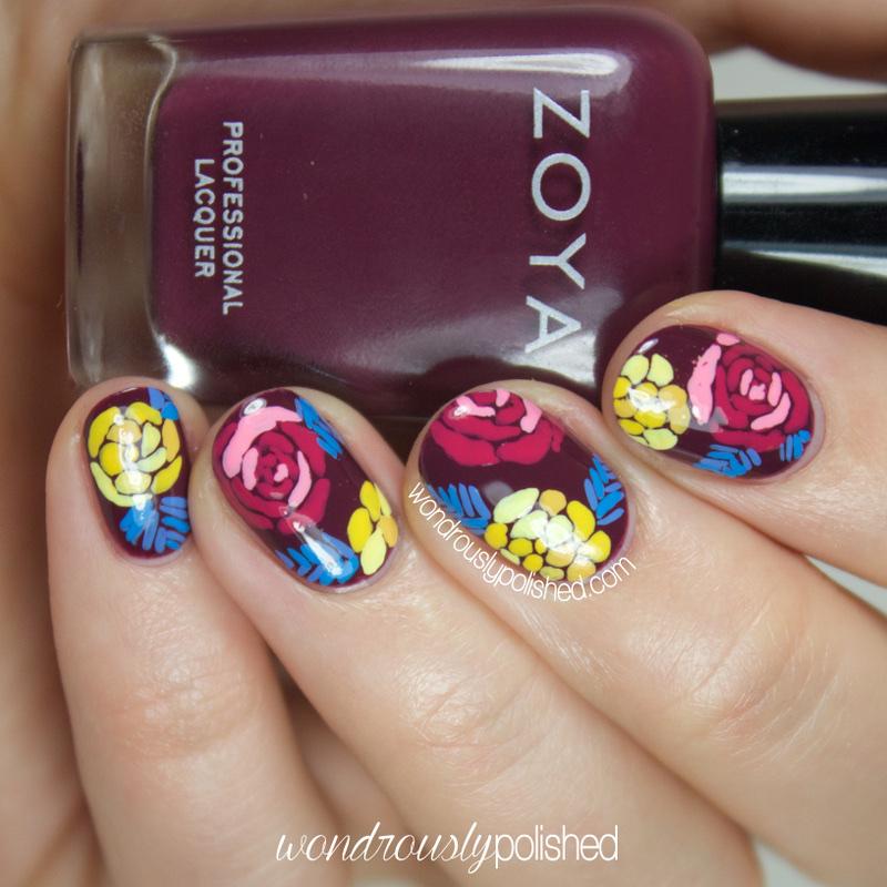 Wondrously Polished 31 Day Nail Art Challenge: Wondrously Polished: 31 Day Challenge, Day 11