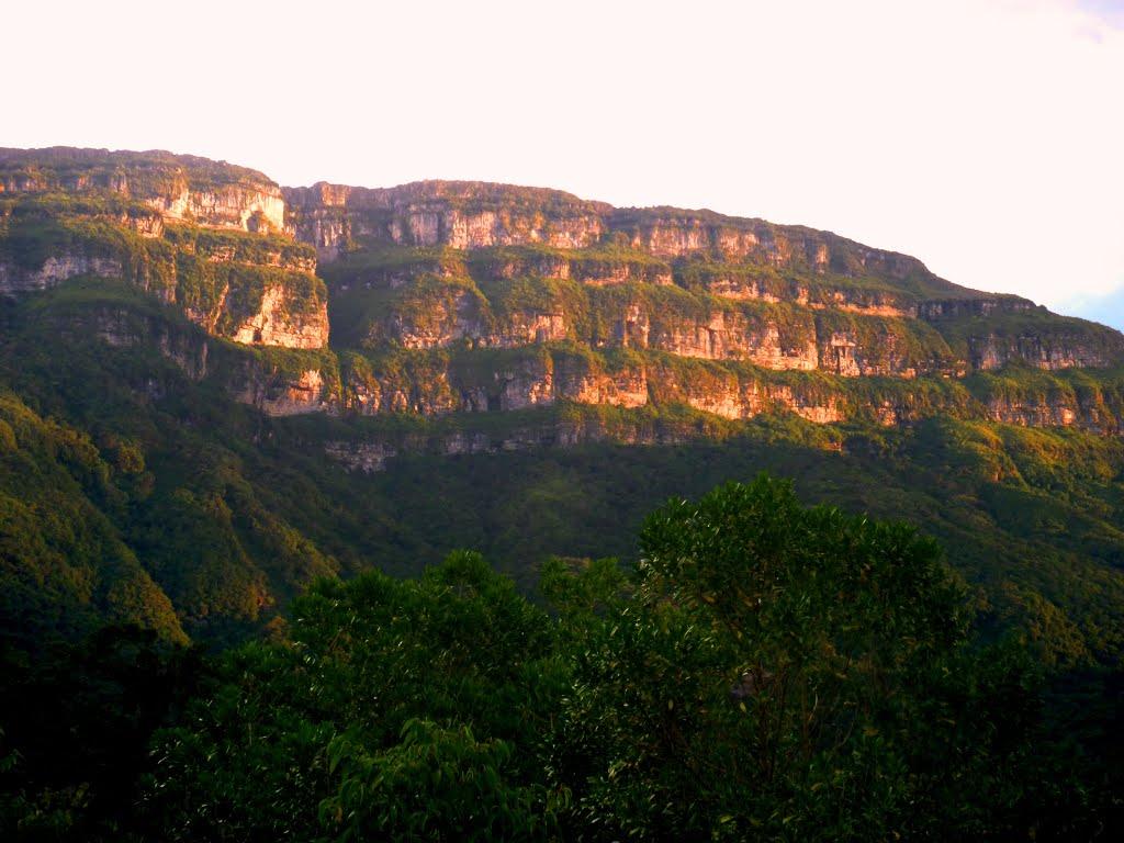 El cerro pintao de Villanueva Guajira