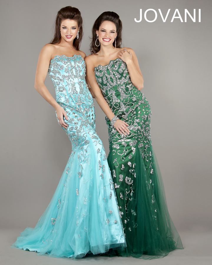 Jovani Prom Dresses 2013 long seuqins crystal