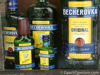 Напитки с  Бехеровкой