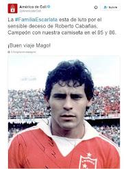 MUERE EL JUGADOR PARAGUAYO ROBERTO CABAÑAS