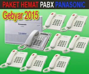 Paket Hemat Pabx Panasonic 2015