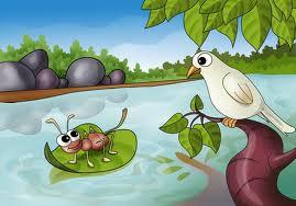 Cerita The Ant And The Dove