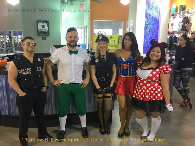 Halloween Costumes in Burnaby - Oct. 30, 2015