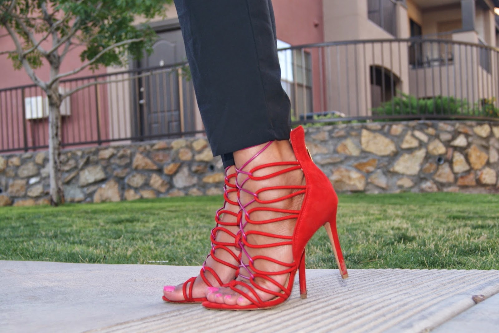 lace up gladiator heels, schutz shoes, allthingsslim,