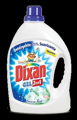 DIXAN 2 EN 1 :DETERGENTE + SUAVIZANTE