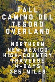 SEPT 2018 - CAMINO DEL TESORO OVERLAND