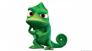 This one's cute but I really hate lizards