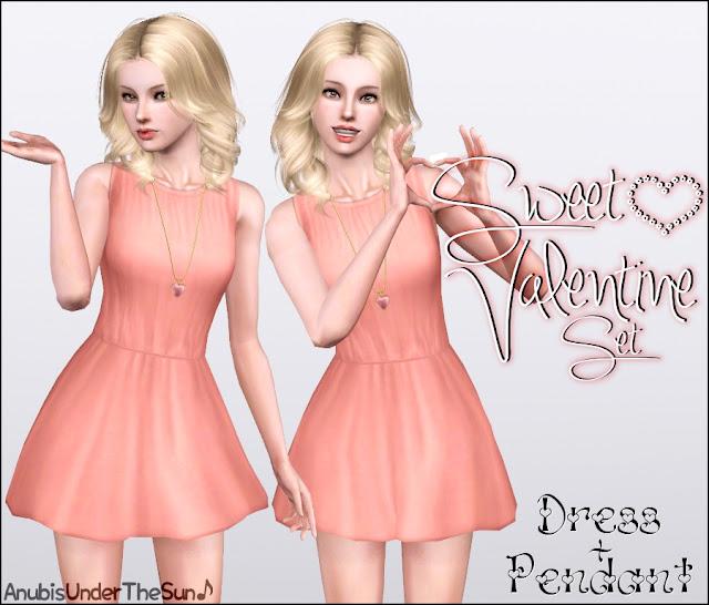 Sweet Valentine Set (Dress & Pendant) by Anubis SweetValentine_1