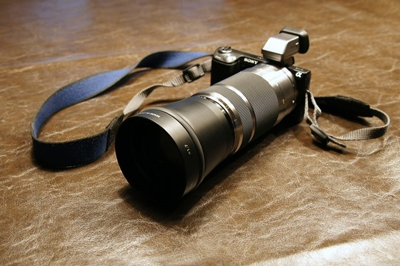 sony nex dh1758 conversion lens 55-210mm