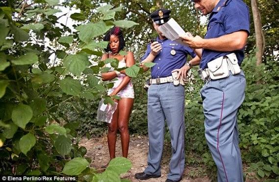 nigerian prostitutes italy