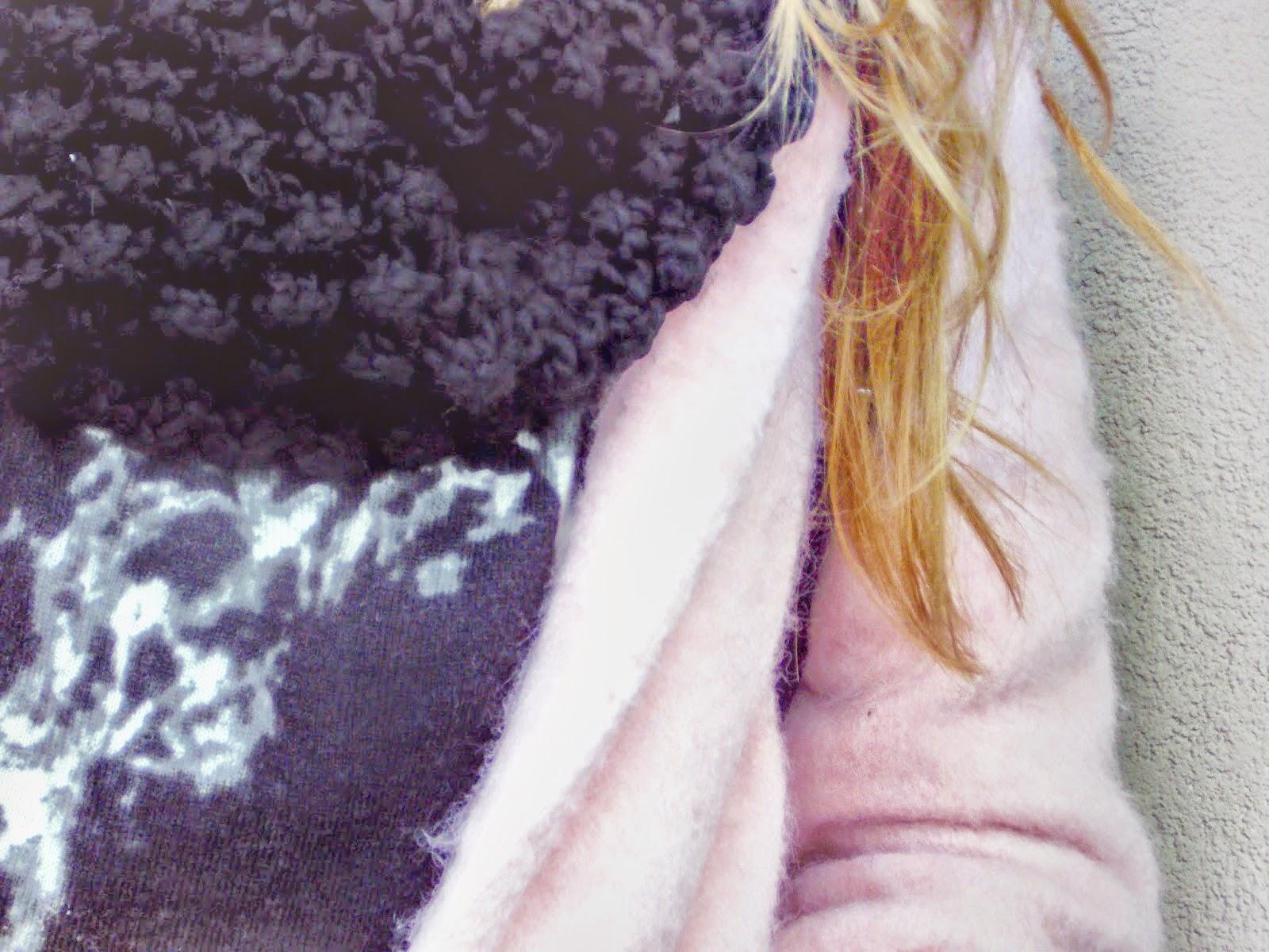 образы с розовым пальто, розовое пальто, розовое пальто фото, розовое кашемировое пальто