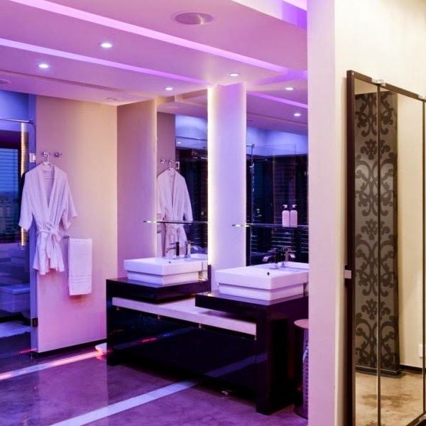 amazing bathroom lighting design inspiration with unique sink and modern two mirror beautiful bathroom lighting design
