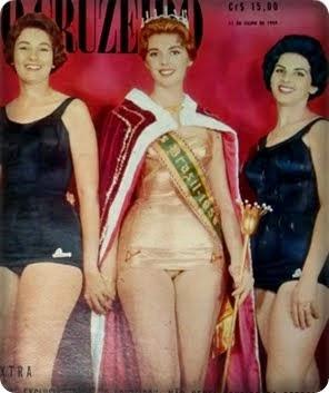 TOP TRES MISS  BRASIL 1959