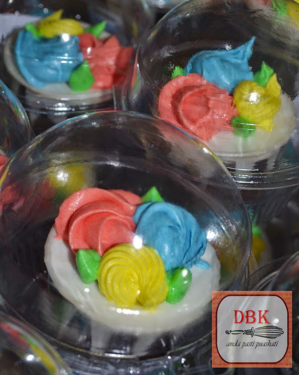 Doorgift Cupcakes Buttercream