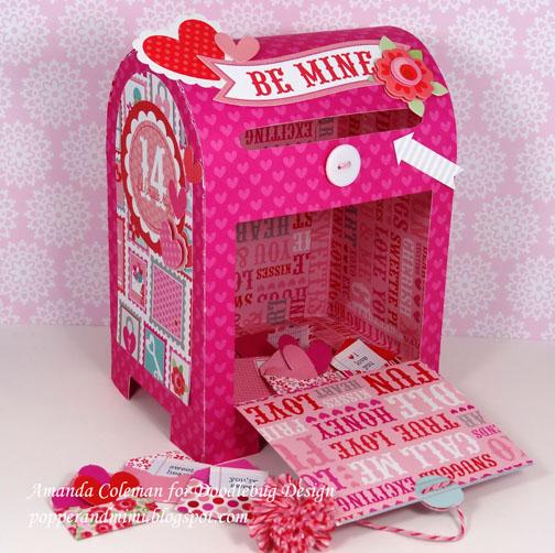 Doodlebug Design Inc Blog Special Delivery Valentines Mailbox