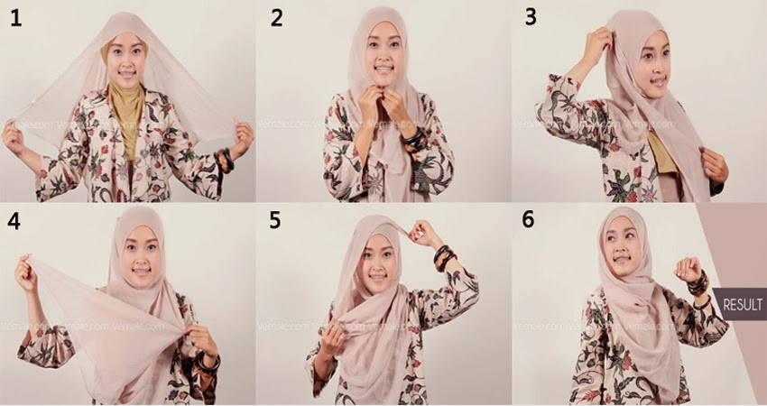 Download image Tutorial Jilbab Segi Empat Super Cepat Jpg PC, Android ...