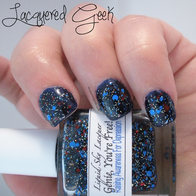 Genie, You're Free from Liquid Sky Lacquer swatch