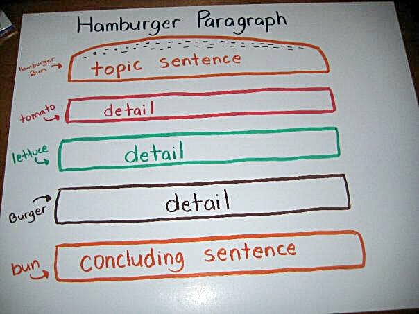 Hamburger Topic Sentence Worksheet As Well As Worksheets On ...