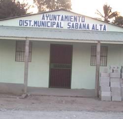 Ayuntamiento apertura Moderno cuartel Policía Sabana Alta