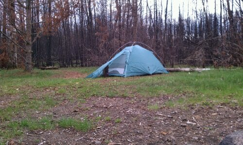 Holiday Area: Tent Camping in Isabella County, Michigan