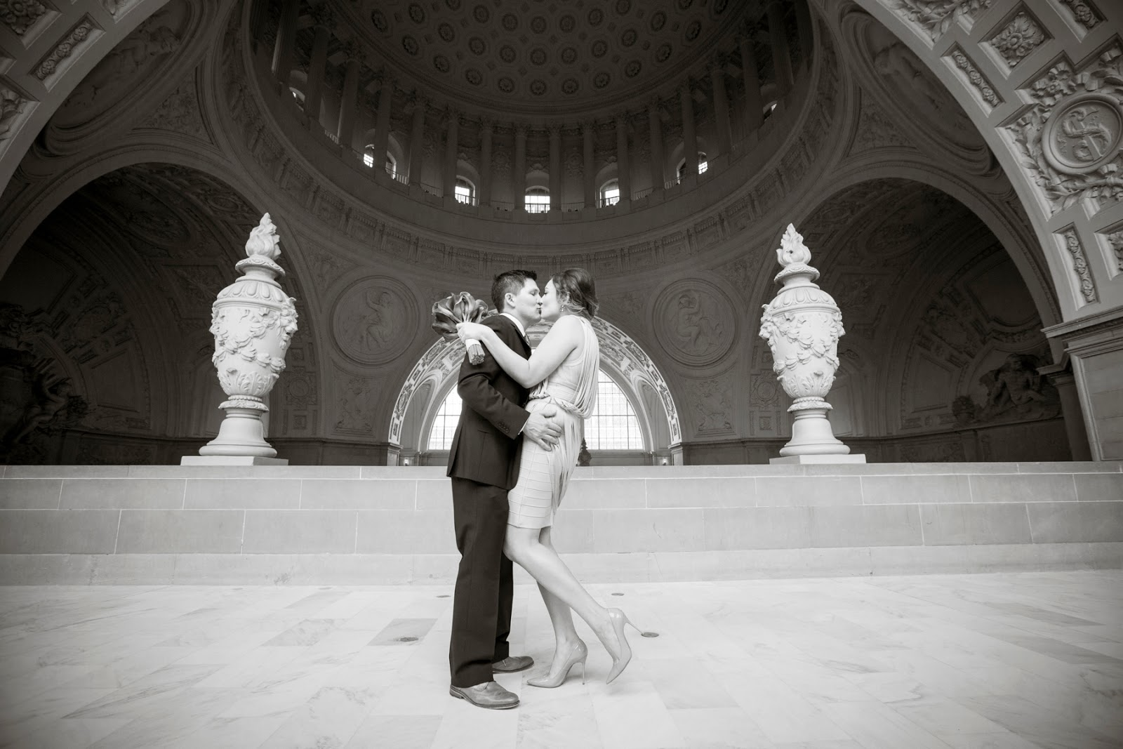 Michelle Walker Photography City Hall San Francisco Wedding