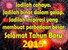 Gambar Dan Kata Ucapan Selamat Tahun Baru 2015