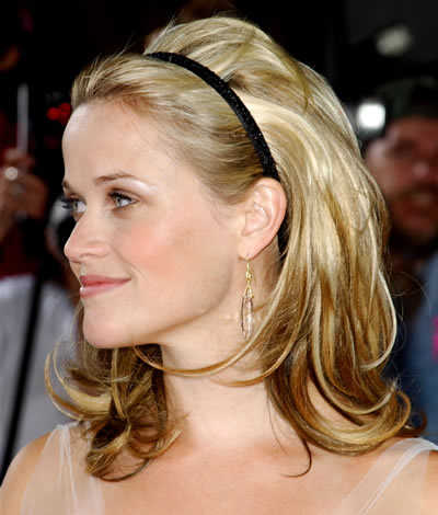 Hairstyles: Long Hair with Headbands Style