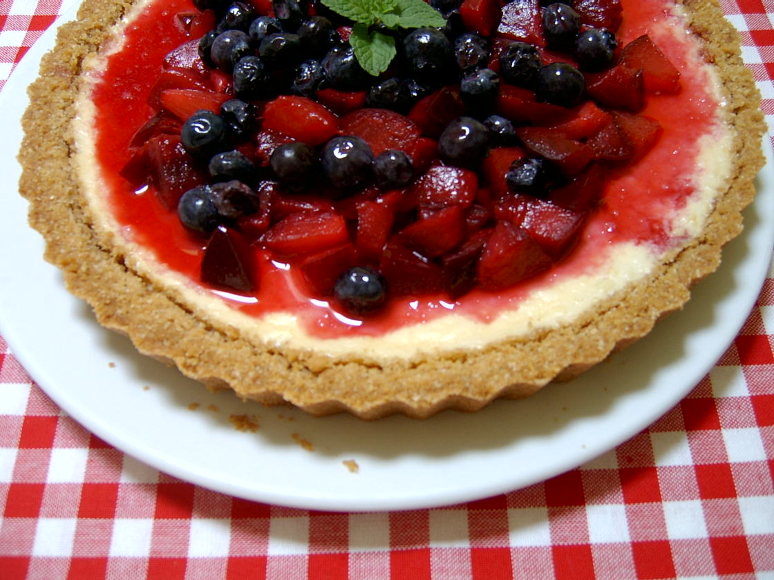 tart recipe dishmaps red white and blueberry red white blueberry i ...