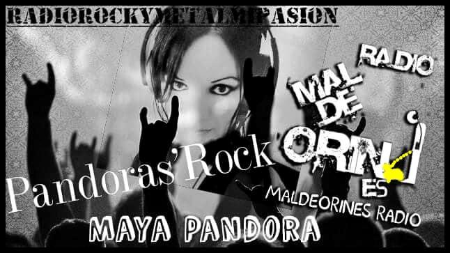 PANDORAS ROCK RADIO ROCK Y METAL MI PASION
