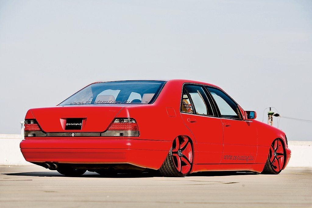 Mercedes benz s600 w140 vip red benztuning for Mercedes benz red